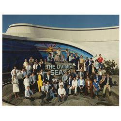 The Living Seas Crew Photo.