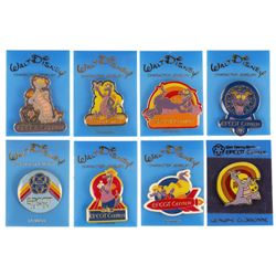 Set of (8) Epcot Figment Pins.