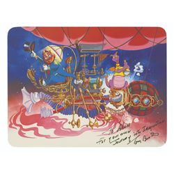 Signed Journey into Imagination Postcard.