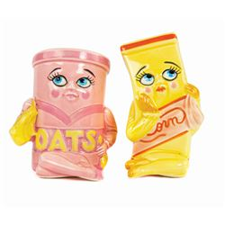 Kitchen Kabaret Salt & Pepper Shakers.