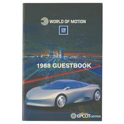 World of Motion 1988 Guestbook.