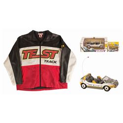 Test Track Jacket with (3) Cars.
