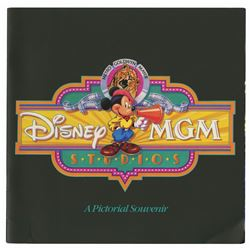Disney-MGM Pictorial Souvenir Guidebook.