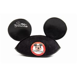 Annette Funicello Signed Mickey Mouse Ears.