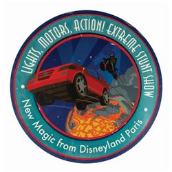 Lights, Motors, Action! Extreme Stunt Show Sign.