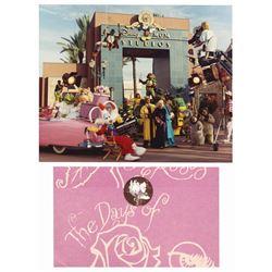 Days of Swine and Roses Invitation & Photo.