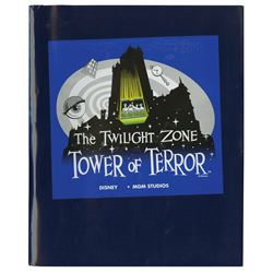 Tower of Terror Press Kit & Imagineering Book.