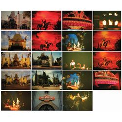 Collection of (19) The Great Movie Ride Slides.