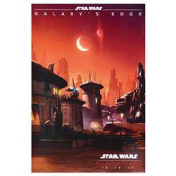 Star Wars Galactic Nights Poster.
