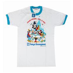 Tokyo Disneyland Grand Opening T-Shirt.