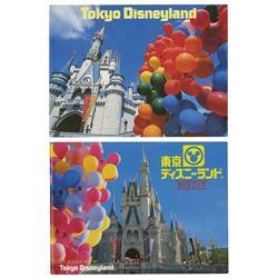Pair of Tokyo Disneyland Guidebooks.