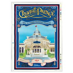 Tokyo Disneyland Crystal Palace Poster Proof.