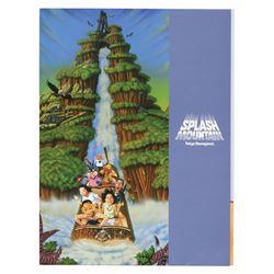 Tokyo Disneyland Splash Mountain Press Packet.