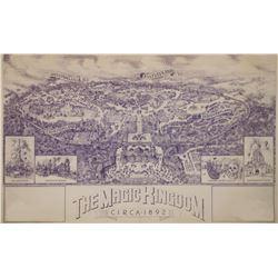 Disneyland Paris  Jim Michaelson Map Concept.