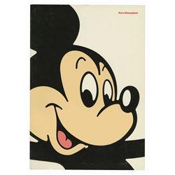 Euro Disneyland Pre-Opening Guide Book.
