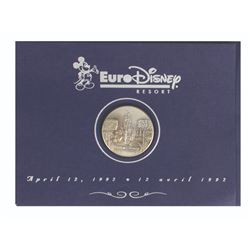 Euro Disney Resort Grand Opening Medallion.