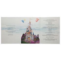 Euro Disneyland Opening Program.