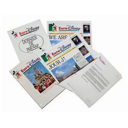 Euro Disneyland Press Kit.