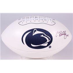 Christian Hackenberg Signed Penn State Nittany Lions Logo Football (JSA COA)