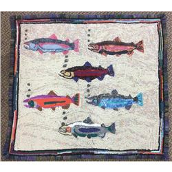 Authentic Anthony Weatherby Chinook Hand Hooked Rug