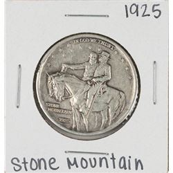 1925 Stone Mountain Commemorative Half Dollar Coin