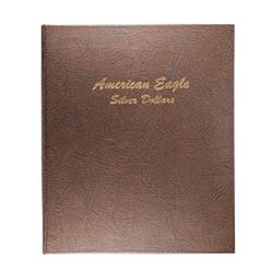 Lot of 1986-2008 $1 Proof American Silver Eagle Coins in Dansco Book
