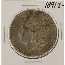 1891-S $1 Morgan Silver Dollar Coin