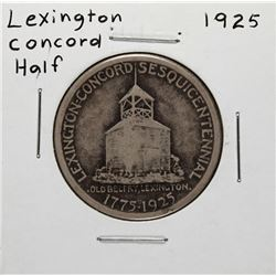 1925 Lexington Concord Commemorative Half Dollar Coin