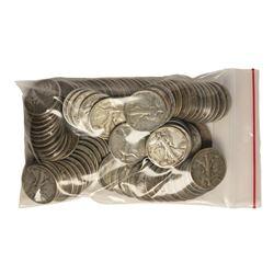 Bag of (100) Silver Walking Liberty Half Dollar Coins - $50 Face Value