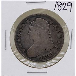 1829 Capped Bust Half Dollar Coin
