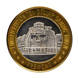 .999 Fine Silver Fremont Casino Las Vegas $10 Limited Edition Gaming Token