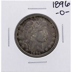1896-O Barber Half Dollar Coin