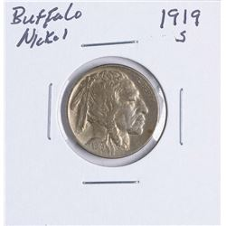 1919-S Buffalo Nickel Coin