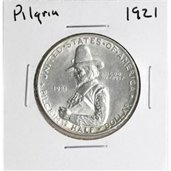 1921 Pilgrim Tercentenary Commemorative Half Dollar Coin