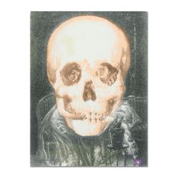 "Gothic Skull (Dali Homage) by ""Ringo"" Daniel Funes"