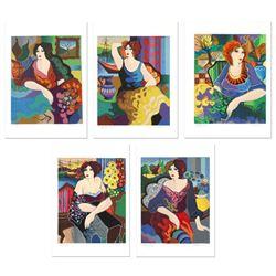 Gloria, Katy, Margo, Sitting Pretty, Mary by Govezensky, Patricia