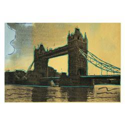 London Bridge by Steve Kaufman (1960-2010)