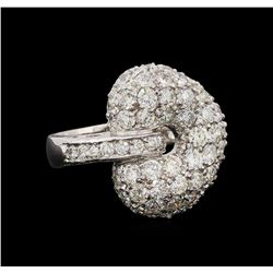 14KT White Gold 1.74 ctw Diamond Ring