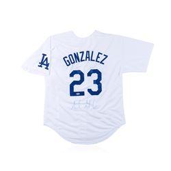 PSA Certified Adrian Gonzalez Autographed Baseball Jersey