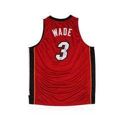 Miami Heat Dwyane Wade Autographed Jersey