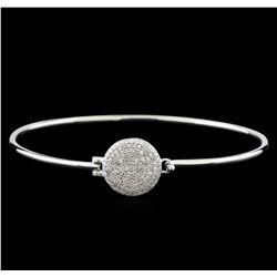 0.75 ctw Diamond Bracelet - 14KT White Gold