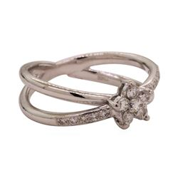 0.30 ctw Diamond Ring - Platinum