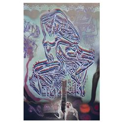 When Time Became Space by Kostabi Original