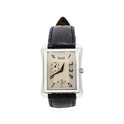 """Piaget """"Emperador"""" 18KT White Gold Wristwatch"""