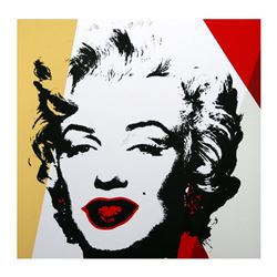 Golden Marilyn 11.37 by Warhol, Andy