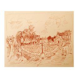 Domaine de la Romanee-Conti, Burgundy by Ensrud Original