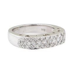 0.75 ctw Diamond Ring - 18KT White Gold