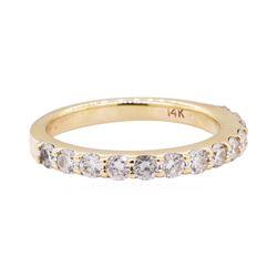 0.50 ctw Diamond Band - 14KT Yellow Gold