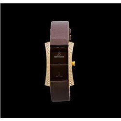 Bertolucci 18KT Rose Gold Diamond Watch