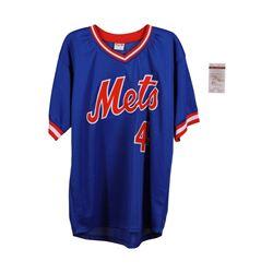 New York Mets Lenny Dykstra Autographed Jersey